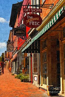 Downtown Lexington Poster