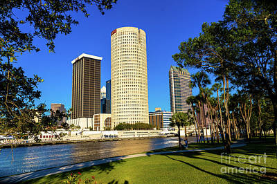 Downtown Tampa Sykes And Bbandt Buildings Poster