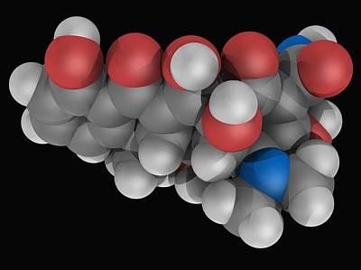 Doxycycline Drug Molecule Poster by Laguna Design