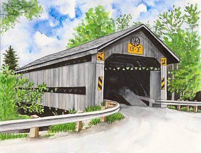 Doyle Road Bridge Poster