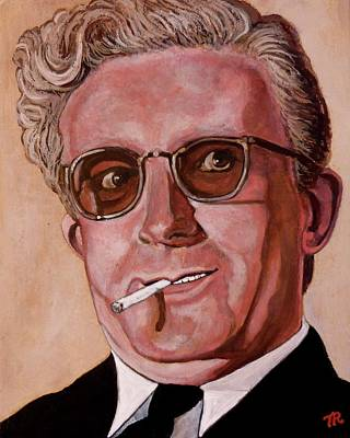 Poster featuring the painting Dr Strangelove 2 by Tom Roderick