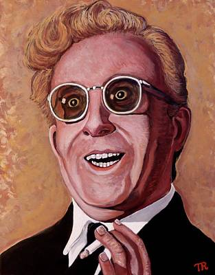 Poster featuring the painting Dr. Strangelove 3 by Tom Roderick