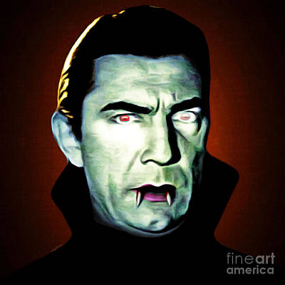 Poster featuring the photograph Dracula 20170414 Square by Wingsdomain Art and Photography