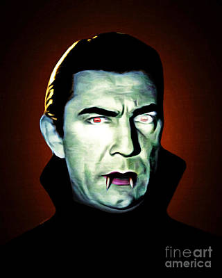 Poster featuring the photograph Dracula 20170414 by Wingsdomain Art and Photography