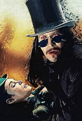 Dracula Poster by Taylan Apukovska