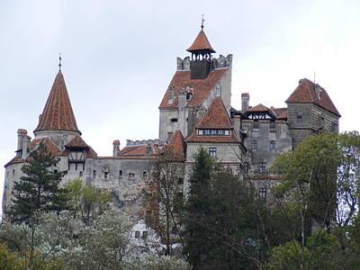 Dracula's Bran Castle In Transylvania Romania Poster by Elena Tudor
