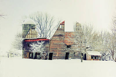 Drafty Old Barn Poster by Julie Hamilton