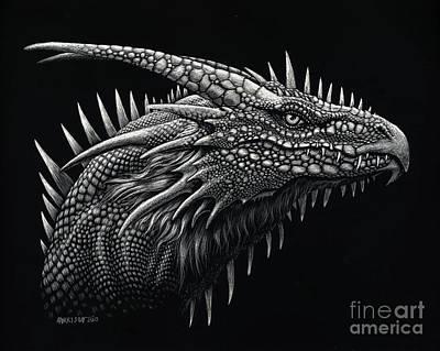 Dragon Lizard Poster