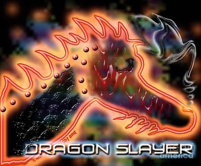 Dragon Slayer Poster by Cheri Doyle