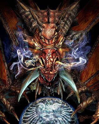 Dragon World Poster by Kurt Miller