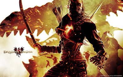 Dragon's Dogma Game Poster