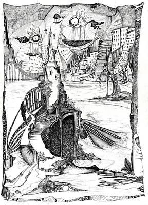 Dragon's Dreams Poster by Alena Kaz