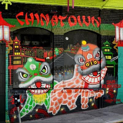Dragons Of San Francisco Poster