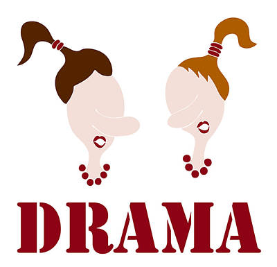 Drama Poster by Frank Tschakert