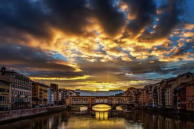 Drama Over Ponte Vecchio Poster