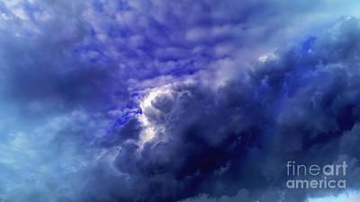 Dramatic Cumulus Sky Poster
