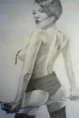 drawing of Vikki Blows Poster