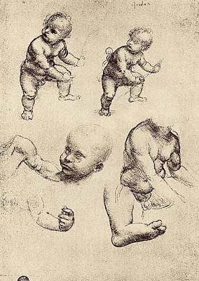 Drawings Of A Child Poster by Sheila Terry
