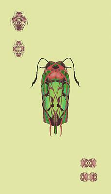 Dread Bug Specimen Poster