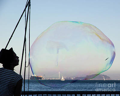 Dream Bubble  Poster by Juan Romagosa