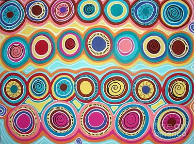 Dream Circles Poster by Karla Gerard