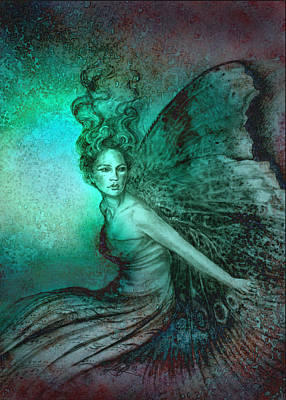 Poster featuring the painting Dream Fairy by Ragen Mendenhall