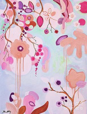Dream Flowers Poster by Jolina Anthony