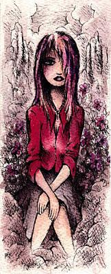 Dream Girl Poster by Rachel Christine Nowicki