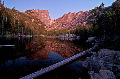 Poster featuring the photograph Dream Lake by Gary Lengyel