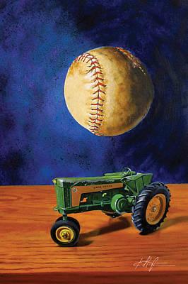 Dream Of Fields Poster by Karl Melton