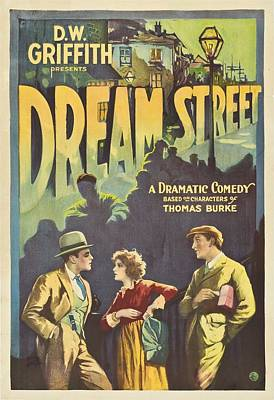 Dream Street 1921 Poster by Mountain Dreams