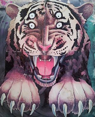 Dream Tiger Poster by William Douglas