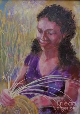 Dream Weaver Poster by Gertrude Palmer