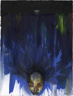 Dreamer Poster by Anthony Burks Sr