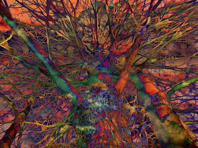 Poster featuring the digital art Dreamers by Robert Orinski