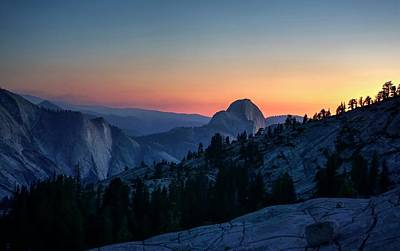 Poster featuring the photograph Dreaming Of Climbing Half Dome by Peter Thoeny