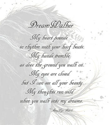 Dreamwalker Poem Poster