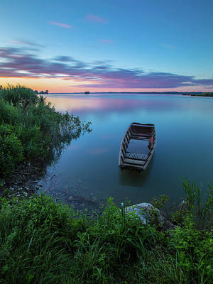 Poster featuring the photograph Dreamy Colors Of The East by Davor Zerjav