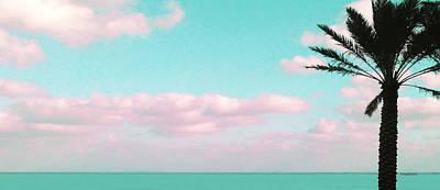 Dreamy Ocean View Poster by Inge Lewis