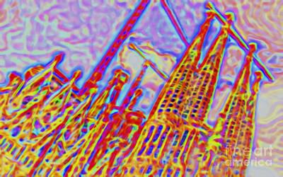 Dreamy Sagrada Poster by GabeZ Art