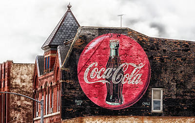 Drink Coca-cola Poster by L O C