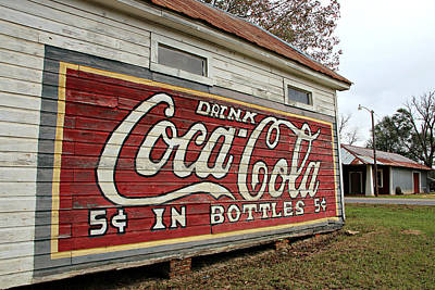 Drink Coca-cola Poster by Lynn Jordan