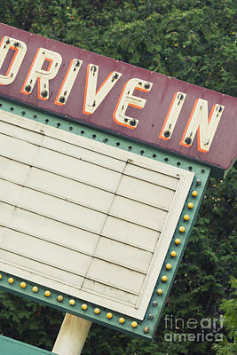 Drive In I Poster by Margie Hurwich