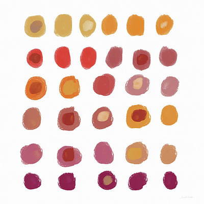 Drops Of Fall Color- Art By Linda Woods Poster