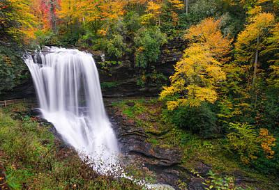 Dry Falls Highlands North Carolina Poster
