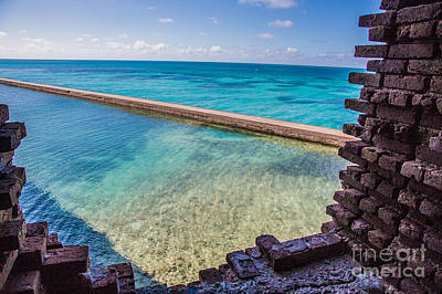 Dry Tortugas 1 Poster by Richard Smukler