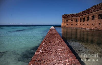 Dry Tortugas 4 Poster by Richard Smukler