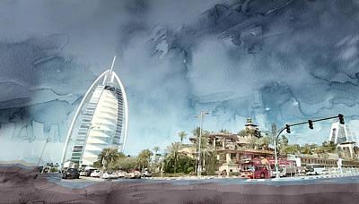 Dubai 467 Poster by Jani Heinonen