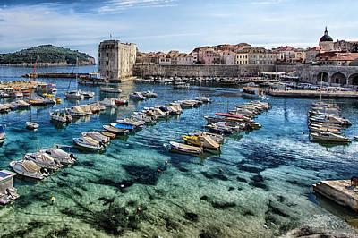 Dubrovnik Croatia - Port Poster