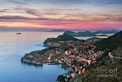Dubrovnik, Croatia Poster by Rod McLean
